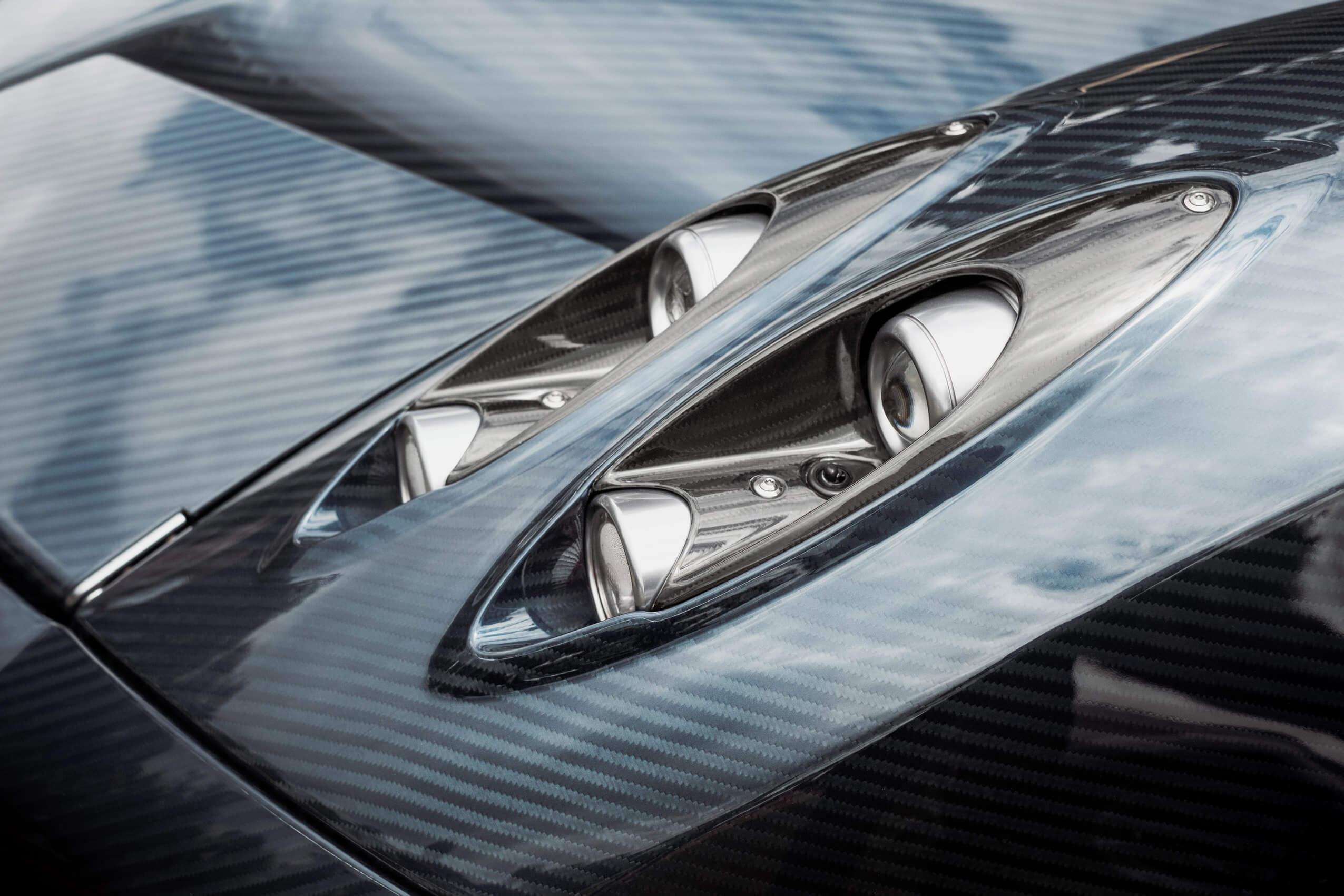 Carbon fiber composite sports car