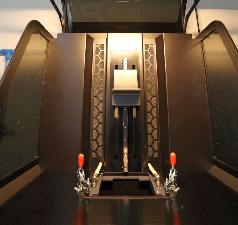FLUX 3D Door open