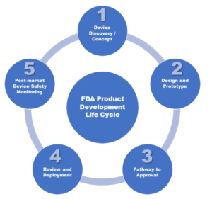 5 stages of FDA product development life cycle